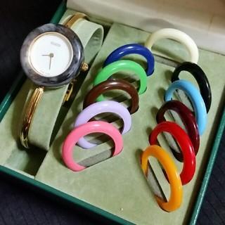 Gucci - 良品☆GUCCI チェンジベゼル 腕時計