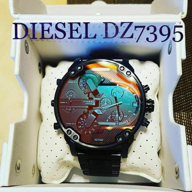 イヴサンローラン バッグ ヒョウ柄 | DIESEL - ディーゼル最新商品!新品未使用 DIESEL DZ7395 腕時計 レッドグラスの通販 by ネコール@pjajq|ディーゼルならラクマ