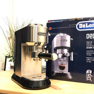 デロンギ(DeLonghi)のデロンギ エスプレッソマシーン メタルシルバーEC680M(エスプレッソマシン)