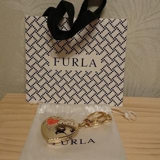 フルラ(Furla)の【あやや様専用】【未使用】FURLA キーホルダー(ハート)(キーホルダー)