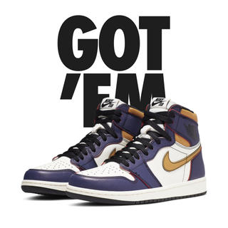 NIKE - AIR JORDAN 1 HIGH OG La To Chicago  29cm