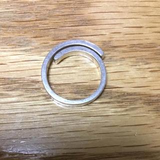 エテ(ete)のete 2連リング シルバー 6号 (リング(指輪))