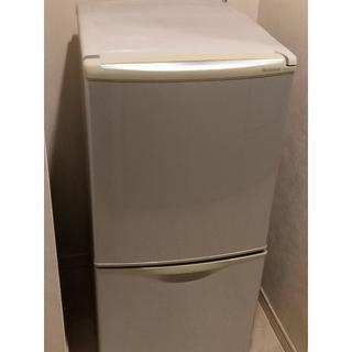 パナソニック(Panasonic)のNational ノンフロン冷凍冷蔵庫 122L NR-B122J (冷蔵庫)