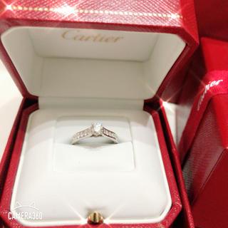 カルティエ(Cartier)のカルティエ ソリテール pt950  8号(リング(指輪))