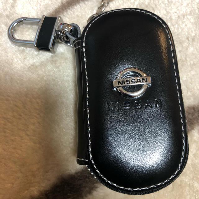 日産(ニッサン)のNISSANスマートキーケース 黒 メンズのファッション小物(キーケース)の商品写真