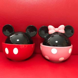 Disney - 蓋を開けるワクワクがとまりません!お子様の記念日に是非♡ディズニーペア蓋付丼