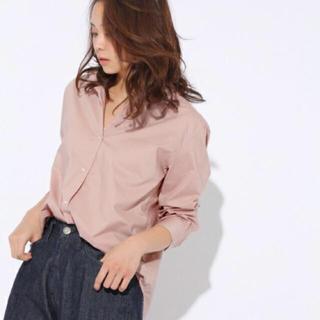 ニコアンド(niko and...)のniko and... くすみピンクシャツ(シャツ/ブラウス(長袖/七分))