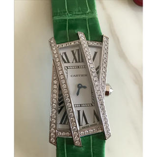 カルティエ(Cartier)のカルティエ レアモデル タンククラッシュ 未使用品(腕時計)