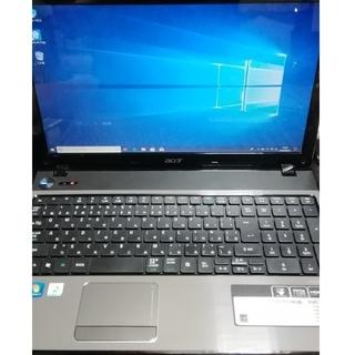 エイサー(Acer)のAcer core i5  SSD windows10 ノートPC(ノートPC)