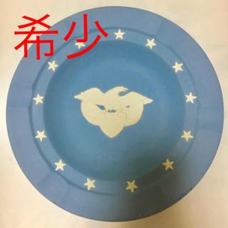 ウェッジウッド(WEDGWOOD)のウェッジウッド ジャスパーウェア  鷹とエンブレムと星  灰皿 プレート(小物入れ)