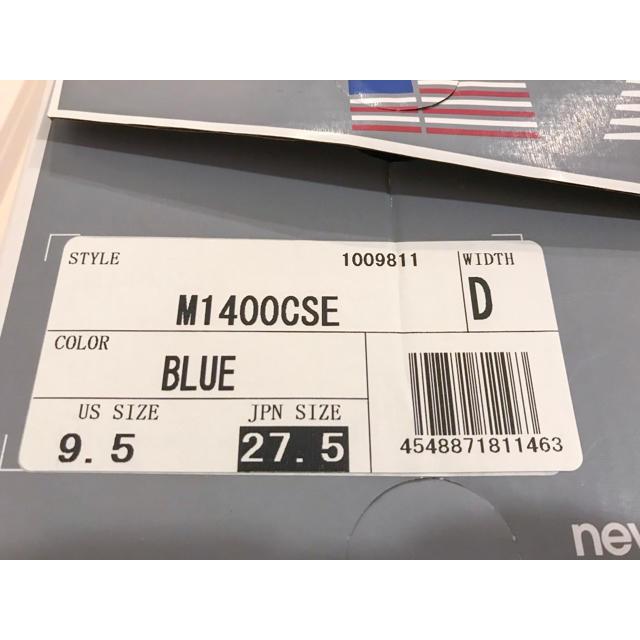 New Balance(ニューバランス)のニューバランス スニーカー M1400CSE メンズの靴/シューズ(スニーカー)の商品写真