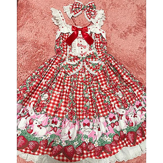 Angelic Pretty - ribbonBerrybunny JSKセット
