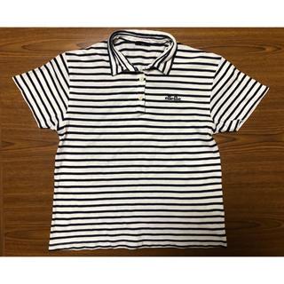 エレッセ(ellesse)の値下 エレッセ  ボーダー ポロシャツ 140cm ellesse(Tシャツ/カットソー)