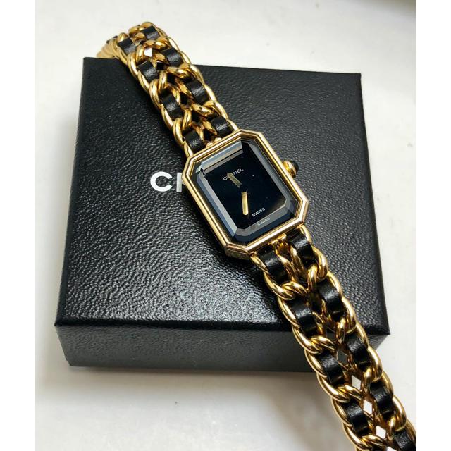 エルメス 財布 薄い | CHANEL - CHANEL シャネル プルミエール  時計 Mサイズ 稼働品の通販 by ゆーすけ's shop|シャネルならラクマ