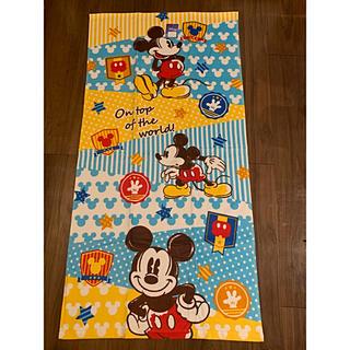 Disney - バスタオル ハミングミッキー 新品未使用