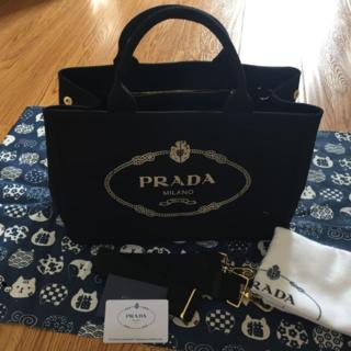 PRADA - PRADA カナパ トートバッグ M