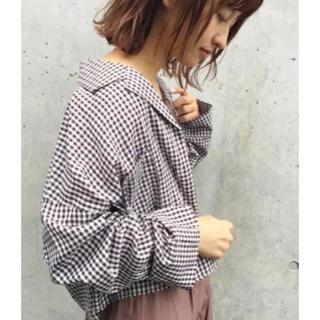 Kastane - カスタネ ギンガムチェックシャツ
