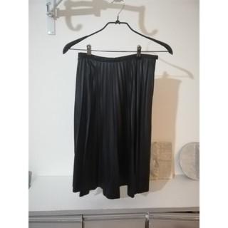 デプレ(DES PRES)の合皮 スカート デプレ トゥモローランド(ひざ丈スカート)