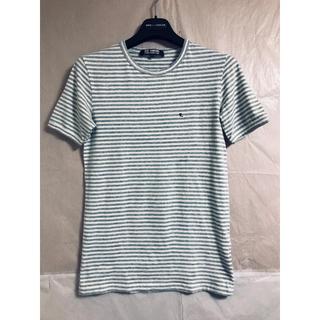 ラフシモンズ(RAF SIMONS)の2007春夏 メランジボーダーストレッチTシャツ(Tシャツ/カットソー(半袖/袖なし))