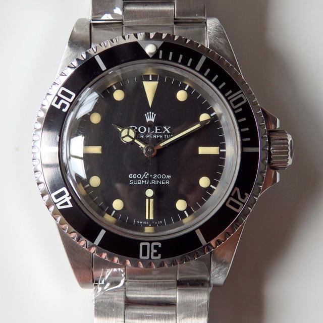 ROLEX - 希少!ロレックス サブマリーナ 5513 自動巻 ヴィンテージ 腕時計 5512の通販 by yuzu2017's shop|ロレックスならラクマ