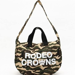RODEO CROWNS WIDE BOWL - 新品☆Rodeo Crowns☆2wayキャンバスバッグ