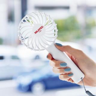 ミルクフェド(MILKFED.)のミルクフェド ミニ扇風機 付録♫(扇風機)