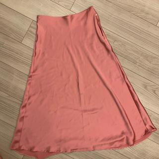 ザラ(ZARA)のZARA サテンスカート XS❤️(ひざ丈スカート)