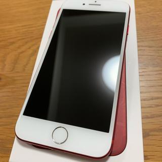 Apple - iPhone7 128G red 本体