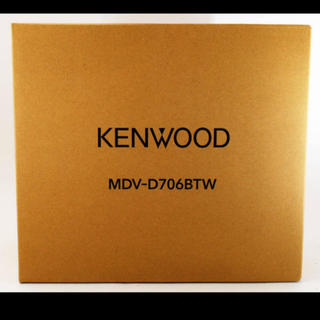 KENWOOD - 【新品】 kenwood MDV-D706BTW ハイレゾ対応