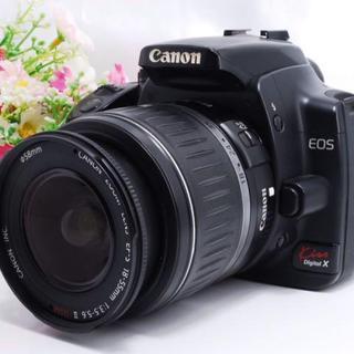 Canon - 【定番カメラ!】初心者定番機種 Canon kiss X レンズキット