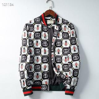 グッチ(Gucci)のGucci人気のプリント動物ファッションメンズジャケット L(ブルゾン)