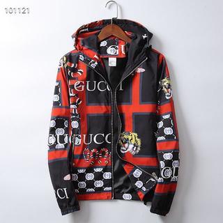 Gucci - GUCCI人気のプリントタイガーヘッドファッションメンズジャケット L
