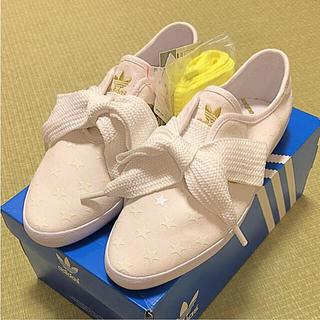 アディダス(adidas)の新品 アディダス リレースロー スニーカー 23.0(スニーカー)