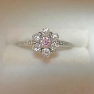 ジュエリーツツミ(JEWELRY TSUTSUMI)の専用!ピンクダイヤモンドの指輪(リング(指輪))