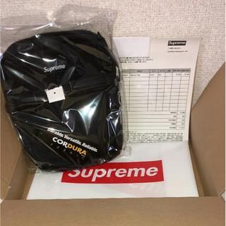 シュプリーム(Supreme)のSupreme 18SS Shoulder Bag ショルダー バッグ 黒(ショルダーバッグ)