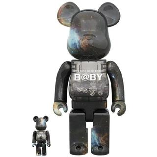 MY FIRST BE@RBRICK B@BY SPACE 100%&400%(キャラクターグッズ)