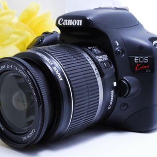 Canon - 【初心者最適 !】Canon EOS KISS X4 レンズキット 一眼レフ