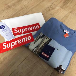 Supreme - supreme 19fw 立ち上げ banner Tシャツ S