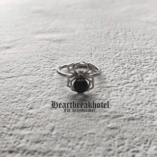ファンキーフルーツ(FUNKY FRUIT)の♥️ Vintage Silver a Spider Sick ring(リング(指輪))