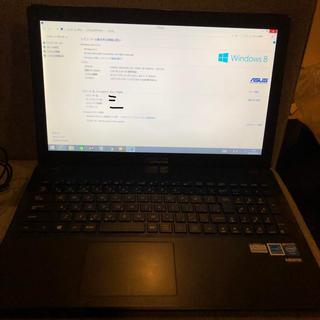 エイサー(Acer)のASUSノートパソコン 使用少なく綺麗です☆(ノートPC)