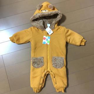 新品未使用❤︎70サイズ クマさん ジャンプスーツ ロンパース