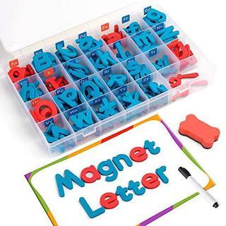 D-FantiX マグネット アルファベット 大文字 小文字 冷蔵庫マグネット