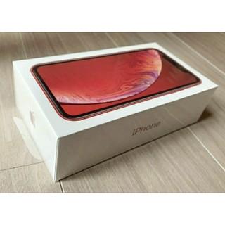 新品 iPhone XR 64GB product RED SIMフリー