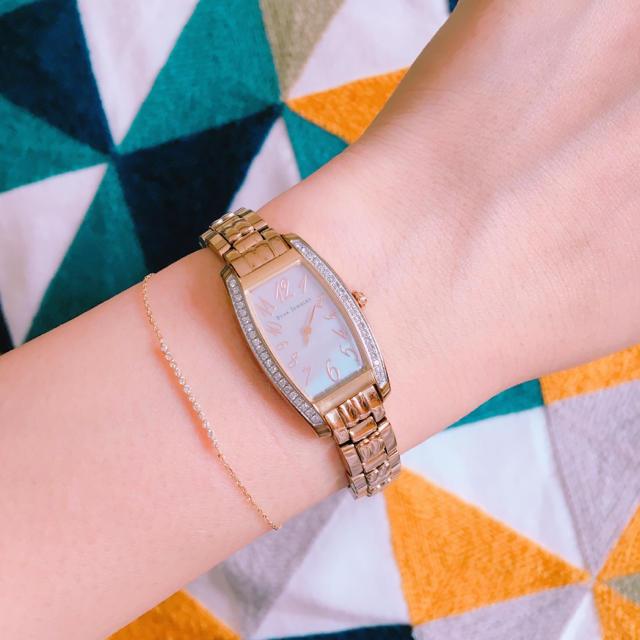 STAR JEWELRY - スタージュエリー ダイヤモンド シェル ソーラー ウォッチ 腕時計 PG 9万円の通販 by  ショップ|スタージュエリーならラクマ