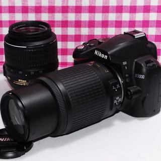 Nikon - ❤️遠くの撮影もバッチリ❤Nikon D3000ダブルズームキット❤️