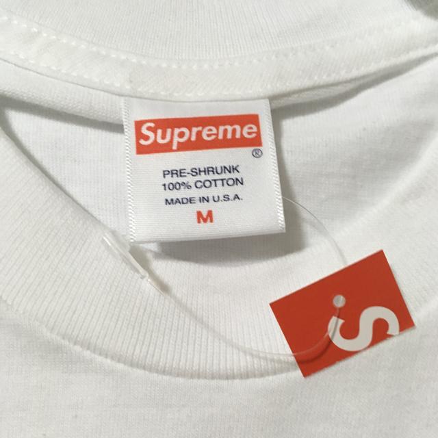Supreme(シュプリーム)のSupreme Smoke Tee White M 新品 19FW 立ち上げ メンズのトップス(Tシャツ/カットソー(半袖/袖なし))の商品写真