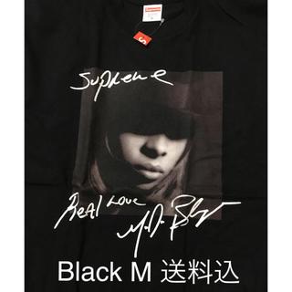 Supreme - Supreme Mary J. Blige Tee Black M新品 19FW