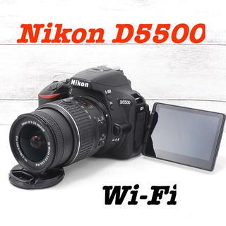 Nikon - ❤️Wi-Fi搭載でスマホへ❤️自撮り❤️Nikon D5500