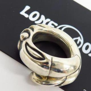 LONE ONES【ロンワンズ】スネークバードリング 14号 カムホート(リング(指輪))