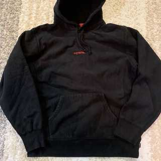 Supreme - Supreme Trademark Hooded Sweatshirt黒L